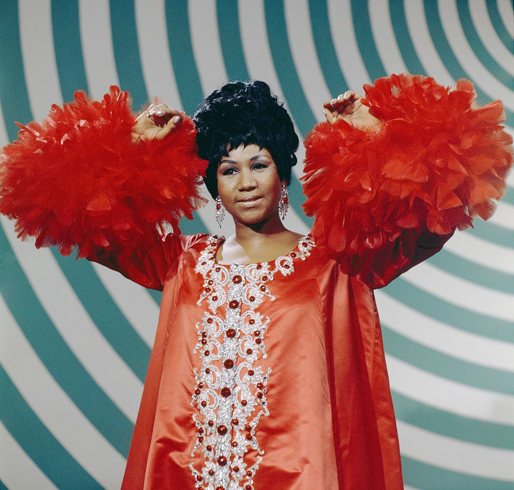 Aretha Franklin performing on The Andy Williams Show