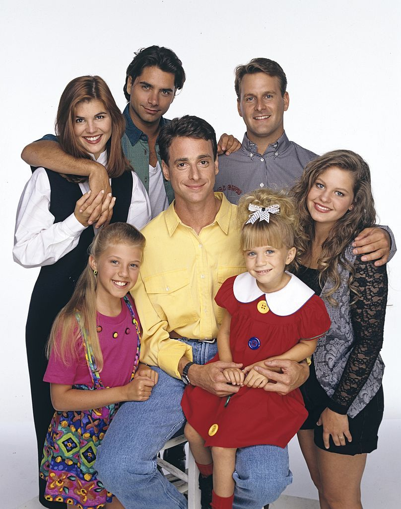 The Full House crew looking as adorable as ever