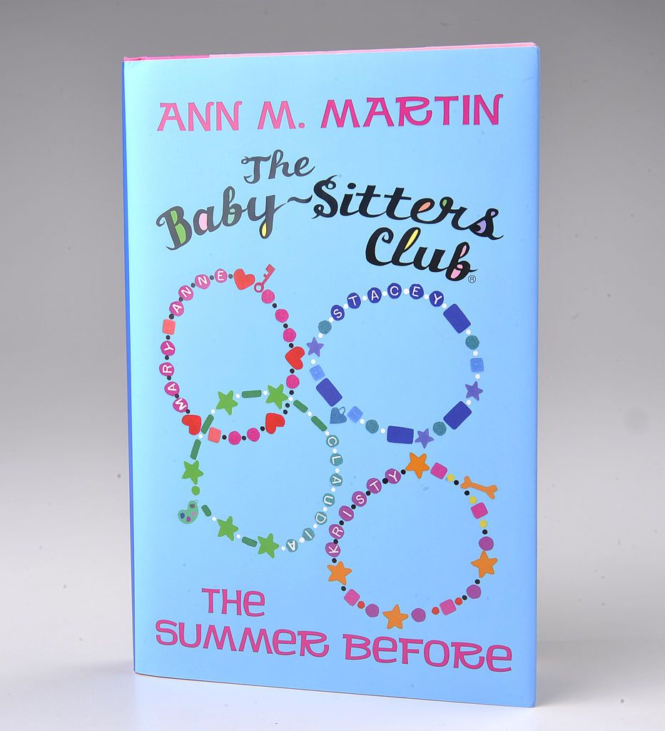 A picture of the cover of The Babysitters Club