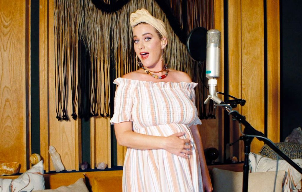 Katy Perry performs during SHEIN Together Virtual Festival to benefit the COVID-19 Solidarity Response Fund for WHO