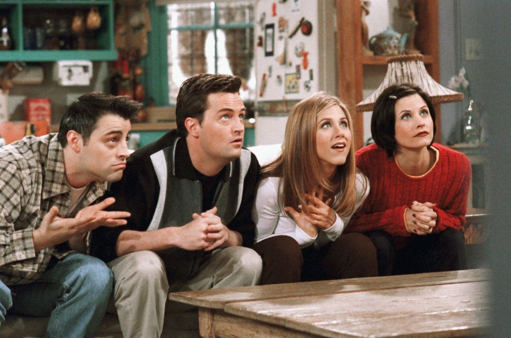 "Friends episode ""The One With The Embryos' episode 12 aired in 1998"