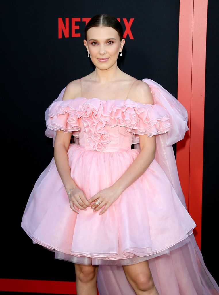 """Millie Bobby Brown attends the premiere of Netflix's """"Stranger Things"""" Season 3"""