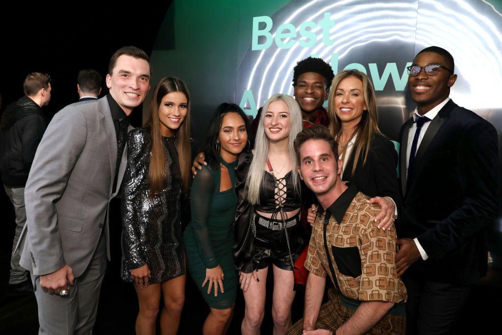 "Andy Cosferent, Morgan Simianer, Gabi Butler, Lexi Brumback, Jerry Harris, Ben Platt, Monica Aldama, and TT Barker attend Spotify Hosts ""Best New Artist"" Party"