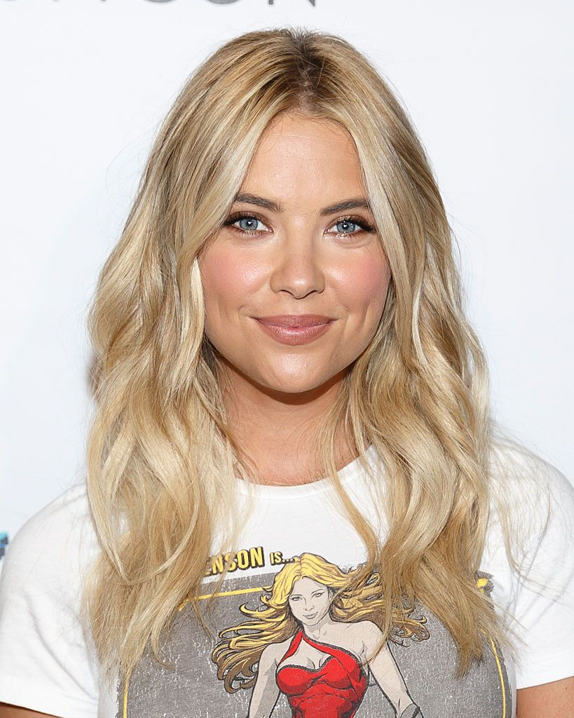 Actress Ashley Benson arrives at BeautyCon and Ashley Benson Host A Special Screening of PIXELS on July 12, 2015 in Los Angeles, California