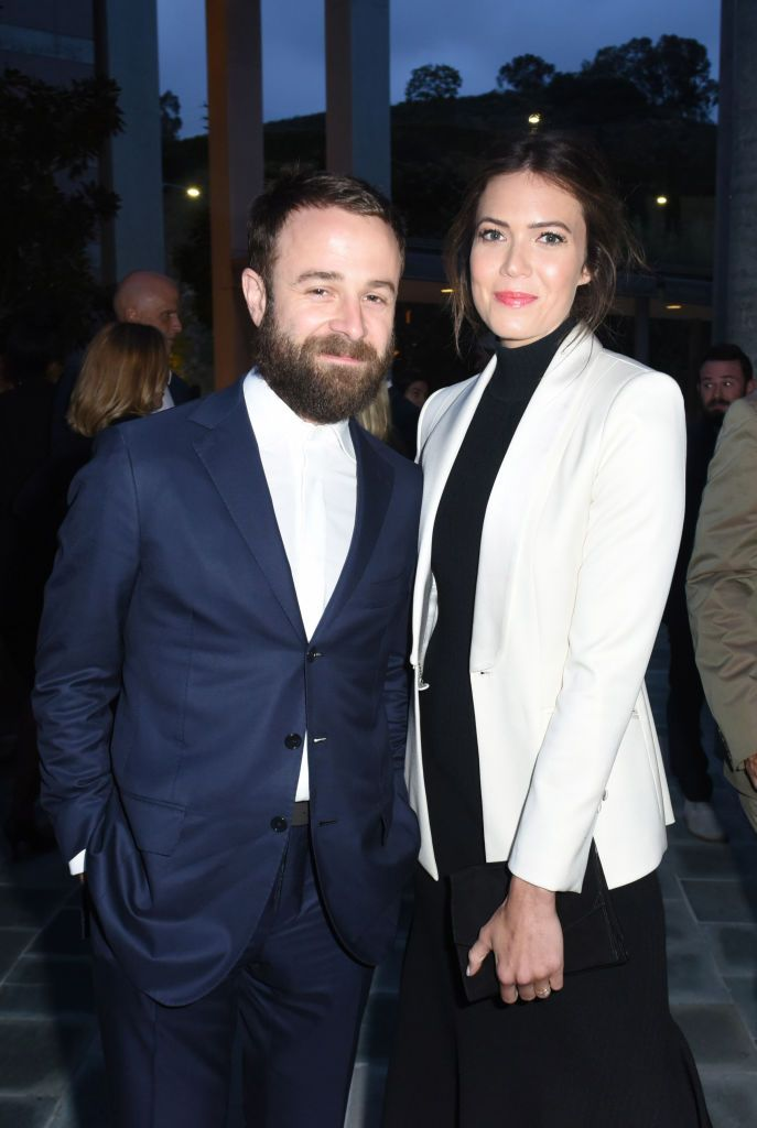 Taylor Goldsmith and Mandy Moore attend Communities in Schools Annual Celebration on May 1, 2018 in Los Angeles, California
