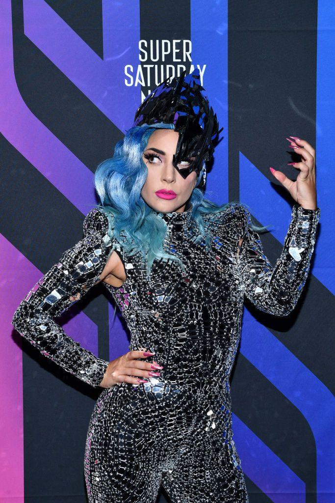 Lady Gaga attends AT&T TV Super Saturday Night at Meridian at Island Gardens