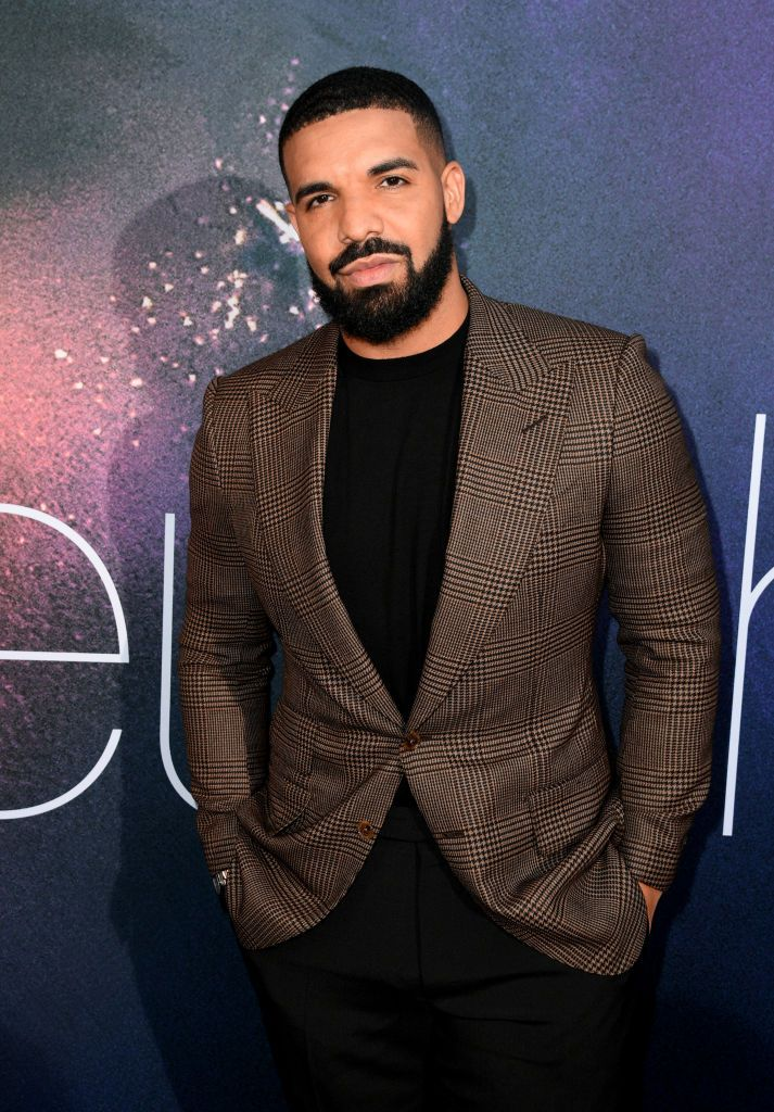 "Drake attends the LA Premiere of HBO's ""Euphoria"" at The Cinerama Dome"