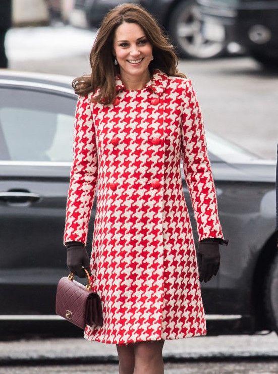 Catherine, Duchess of Cambridge visit sthe Karolinska Institute