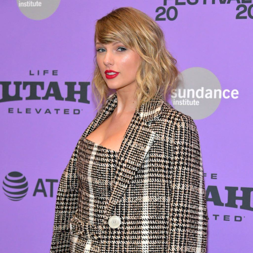 Taylor Swift attends the 2020 Sundance Film Festival