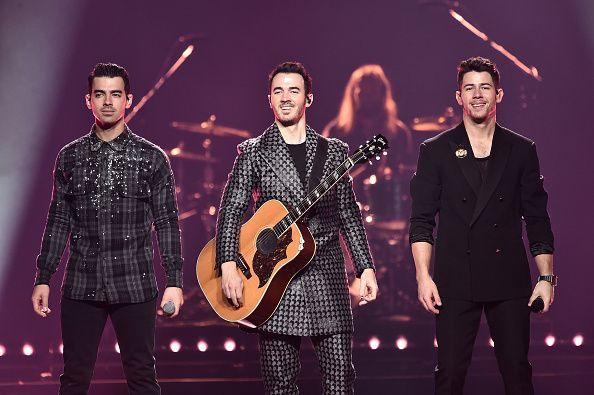 Jonas Brothers performing in 2019