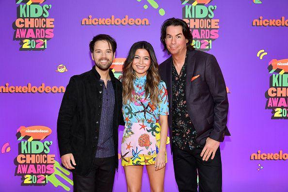 iCarly cast at Kid's Choice Awards
