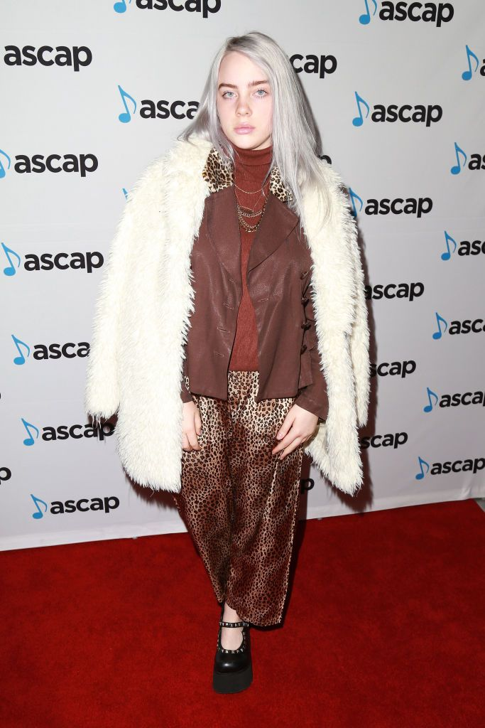 Billie Eilish at the 34th Annual ASCAP Pop Music Awards in Los Angeles