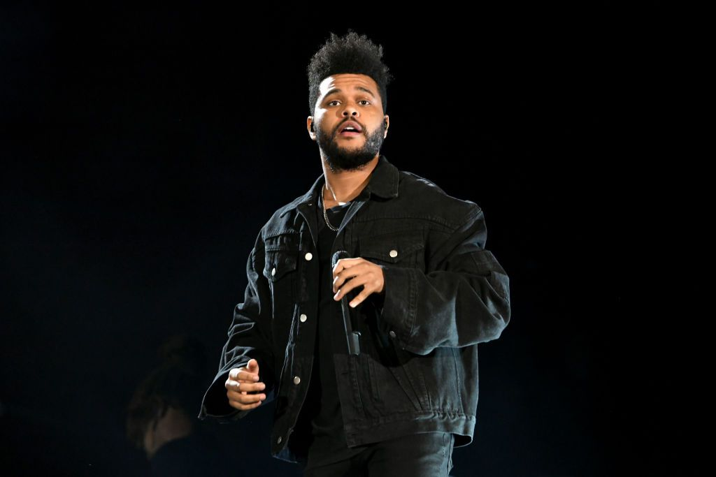 Singer The Weeknd performs onstage during the 2018 Global Citizen Concert at Central Park, Great Lawn September 2018 in New York City